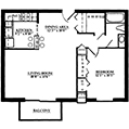 Picture of Summit Park Apartment's Aspen floor plan