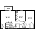 Picture of Summit Park Apartment's Taos floor plan