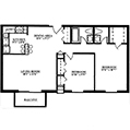 Picture of Summit Park Apartment's Teton floor plan